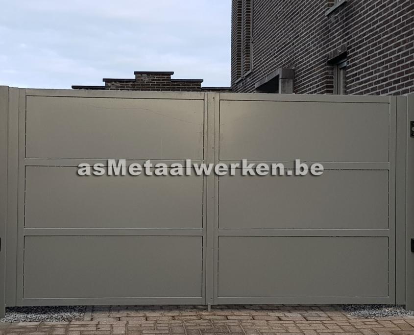 metaalwerken poort